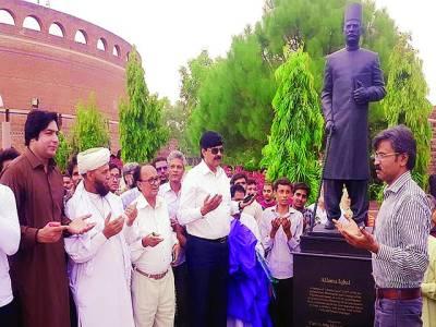 علامہ ڈاکٹر محمد اقبال اسلامیان برصغیر کے عظیم قائد ہیں،عطاء محمد خان