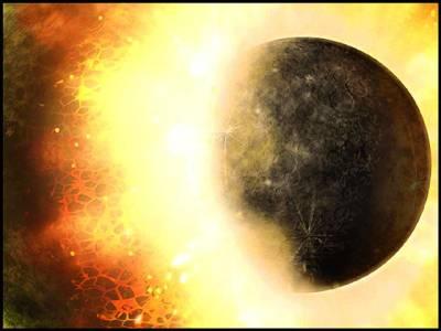 زمین پرزندگی کی ابتداء ایک سیارے سے تصادم کا نتیجہ ہے، تحقیق