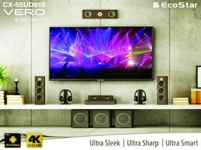 ایکو اسٹار 4K UHD LEDسیریز کے ٹی وی سب میں یکساں مقبول