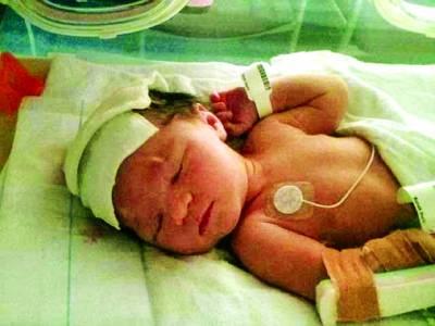 امریکی ریاست ٹیکساس میں خاتون کے ہاں بچی کی دو مرتبہ پیدائش
