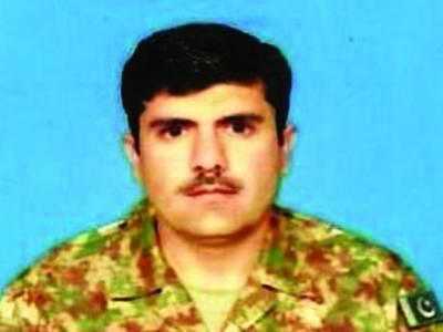 جنوبی وزیرستان میں سرچ آپریشن کے دوران بم دھماکہ ،میجر عمران شہید،6اہلکار زخمی