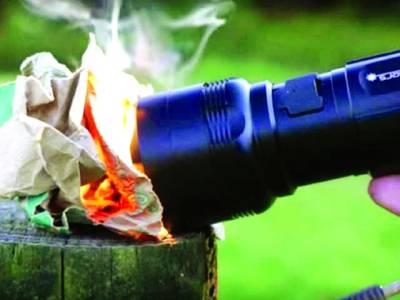 شنگھائی،روشنی کے ساتھ آگ لگانے والی ٹارچ تیار کر لی گئی