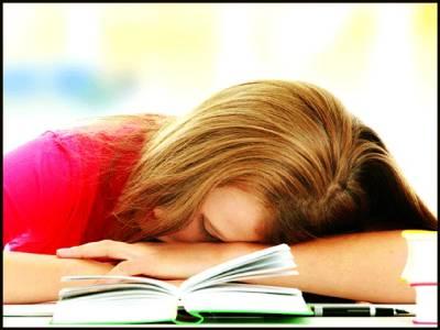 امتحان میں اچھے نمبروں کے لیے نیند ضروری ہے، تحقیق