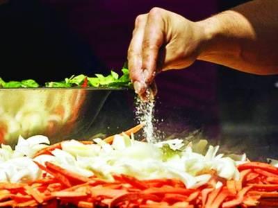 کھانے میں نمک کی کم مقدار کئی امراض سے بچاتی ہے، تحقیق