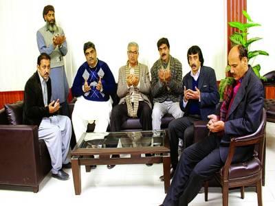 سینئرپروڈیوسر محمد شفیق کی مغفرت کے لئے پی ٹی وی لاہور کی مسجد میں دعا