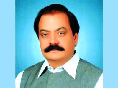 عمران خان وزیر اعظم نہ بننے کی سزا پوری قوم کو دے رہے ہیں ،رانا ثناء اللہ