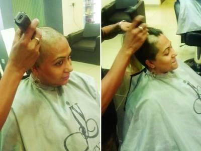پاکستانی خاتون نے اپنے سر کے بال کینسر کے مریضوں کو عطیہ کر دئیے
