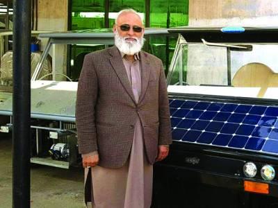 پاکستانی نے شمسی توانائی سے چلنے والی گاڑی ، اے سی اور بہت کچھ تیار کر لیا