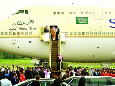 سعودی عرب کے فرمانروا شاہ سلمان انڈونیشیا پہنچ گئے