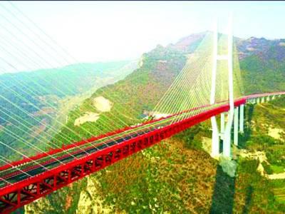 چین میں جھیل پرپْل کی تعمیر مکمل،وزن 123 ٹن