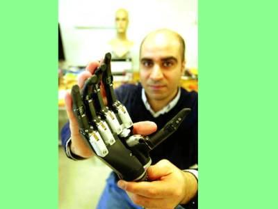 نیوکاسل،از خود شناخت کرکے کام کرنے والا مصنوعی ہاتھ