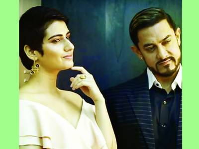 فاطمہ ثناء شیخ عامر خان کے ساتھ فلم ''سارے جہاں سے اچھا '' میں جلوہ گر ہونگی