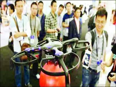 نقل کی روک تھام کیلئے جدید ڈرون کا استعمال