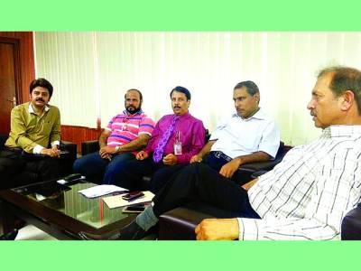 پی ٹی وی لاہور مرکز کے تمام شعبہ جات کے سربراہان کا ایک اہم اجلاس
