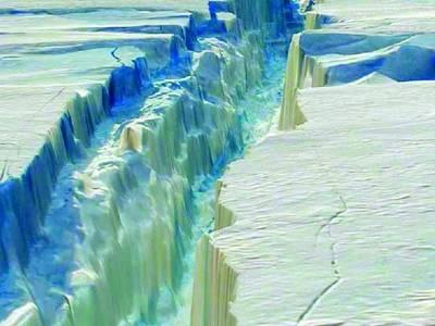 انٹارکٹیکا سے ہزاروں مربع کلومیٹر چوڑا برفانی تودہ ٹوٹ گیا