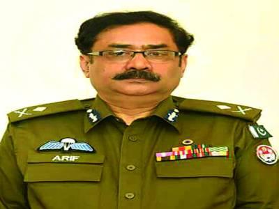 کیپٹن (ر) عارف نواز خان نئے انسکپٹر جنرل ، پولیس پنجاب تعینات