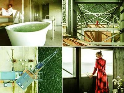 دیو قامت انڈسٹریل کرین سے بناڈنمارک کا مثالی کرین لگثری ہوٹل
