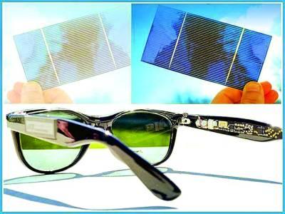 شمسی عینک،موبائل فون اور دوسرے برقی آلات ری چارج کرے گی