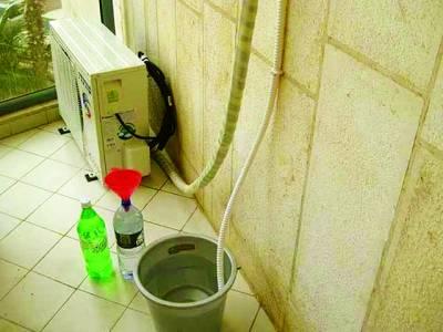 ایئرکنڈیشنر کا پانی یو پی ایس بیٹری کی بہترین دوا