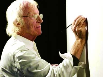 46 سال تک صرف گنتی کے اعداد پینٹ کرنے والا فنکار