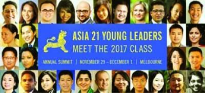 پاکستانی کرکٹرز ثناء میرا یشیاء 21ینگ لیڈرز میں شامل