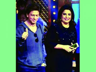 شاہ رخ کا فرح خان کوسرپرائز،شومیں جاپہنچے