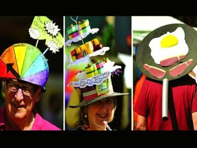 برڈ پورٹ کا خوبصورت ٹوپیوں کا میلہ،شہریوں کی بھر پور شرکت
