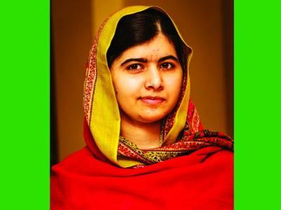 صحافی احمد نورانی کی جدوجہد پاکستان کیلئے ہے ، ملالہ یوسفزئی