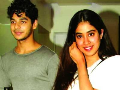 جھانوی کپور کی پہلی فلم ''دھڑک'' آخری مراحل میں