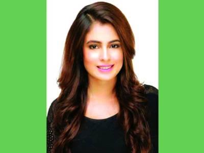 زینب راجہ ڈرامہ سیریل''بہتان ''کی ریکارڈنگ میں مصروف
