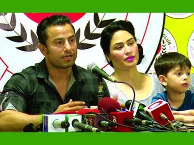 حمیراارشد کی اپنے شوہر احمد بٹ کے ساتھ ایک بار پھر صلح