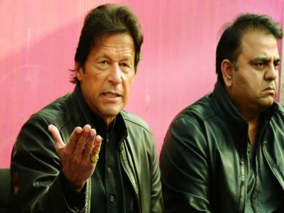 نواز شریف نے فوج کے ڈر سے بھارتی وزیر اعظم سے چھپ کر ملاقات کی : عمران خان