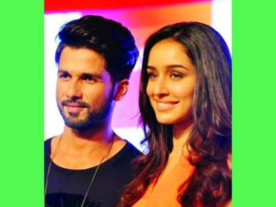 شردھا کپور اور شاہد کپور نے فلم ''بتی گل میٹر چالو'' کی عکسبندی کی تیاریاں شروع