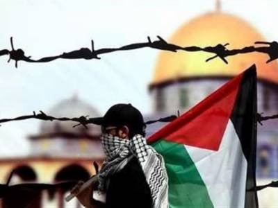 اہلِ کشمیر و فلسطین کو حقوق آزادی