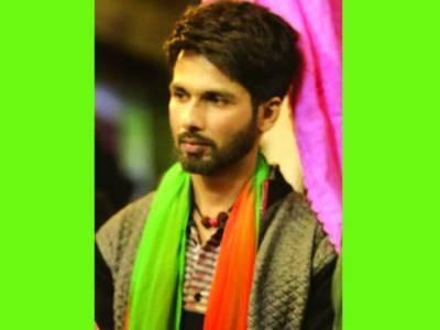 شاہد کپور کی فلم بتی گل میٹر چالو کے حلئے کی تصویر جاری