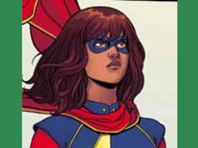 مسلم سپر ہیرو 'مس مارول' پر فلم تیاری کے مراحل میں