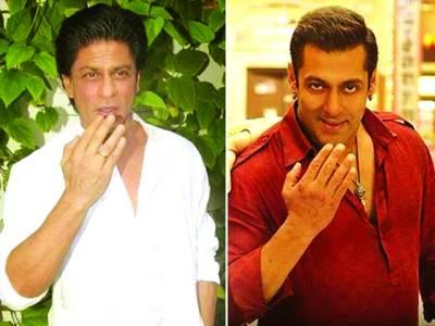 شاہ رخ اورسلمان خان کی مداحوں کو عید کی مبارک باد