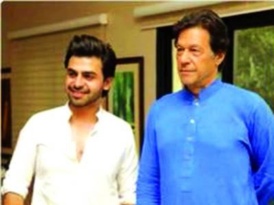پی ٹی آئی الیکشن مہم،آفیشل گیت کیلئے فرحان سعید کا انتخاب