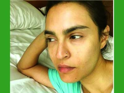 نادیہ حسین کی سوشل میڈیا پر بغیر میک اپ کے تصویر پر شدید تنقید