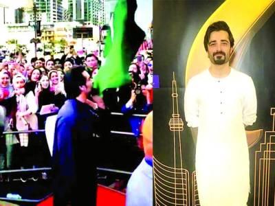 حمزہ علی عباسی کا پاکستانی پرچم کو بوسہ ،ویڈیوسوشل میڈیا پر وائرل