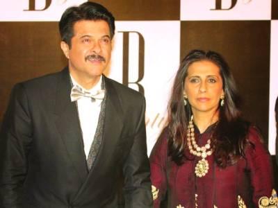 انیل کپور اور اہلیہ سنیتا کپور کی 'لو اسٹوری 'کا آغاز مذاق میں ہوا