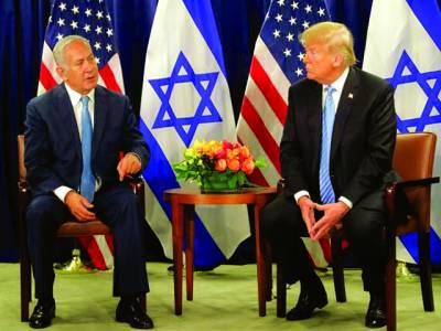 نیو یارک: اسرائیلی وزیراعظم امریکی صدر ٹرمپ سے ملاقات کررہے ہیں
