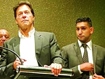 برطانوی باکسر عامر خان کی وزیراعظم عمران خان سے ملنے کی خواہش