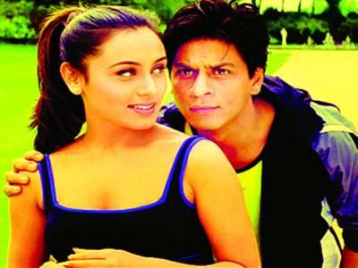 شاہ رخ خان نے رومانس کرنا سکھایا'رانی مکھر جی کا اعتراف