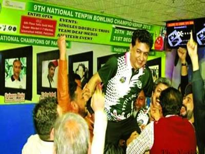 پاکستان اوپن ٹین پن باؤلنگ چمپئن شپ محمد حسین چٹھہ کے نام