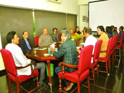 مظفر خان نے الحمراء آرٹس کونسل کے ایگزیکٹوڈائریکٹر کا اضافی چارج سنبھال لیا