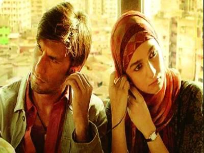 بالی ووڈ کی نئی رومانوی ڈرامہ فلم '' گلی بوائے '' سنسر آج ریلیز ہوگی