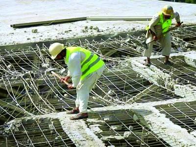 کراچی، نیشنل سٹیڈیم کے ترقیاتی کاموں میں تیزی آگئی