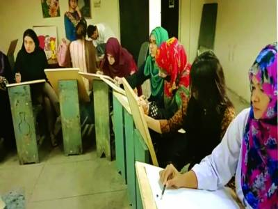 الحمرا اکیڈمی آف پرفارمنگ آرٹس میں طالبات کی تربیت جاری