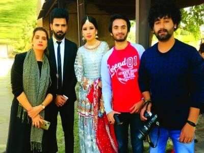 اداکارہ بیا خان کا برانڈ برائیڈل شوٹ مکمل